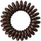 HH Simonsen - Gumki do włosów - Gumka sprężynka brązowa
