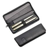 Hans Kniebes - Office accessories - Full-Grain Amalfi Cowhide Leather Pen Case