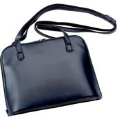 Hans Kniebes - Handbags & Backpacks - Full-Grain Nappa Cowhide Leather Business Handbag