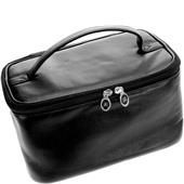 Hans Kniebes - Wash bags - Full-Grain Nappa Cowhide Leather Beauty Case