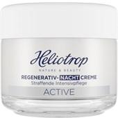 Heliotrop - Active - Regenerativ-Nachtcreme