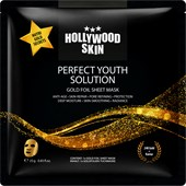 Hollywood Skin - Masken - Gold Secrets Face Sheet Mask