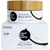 I Want You Naked - Badezusatz - Kokosnuss & Vitamin E Kokos-Milchbad