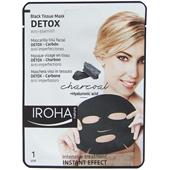 Iroha - Gezichtsverzorging - Detox Black Tissue Mask