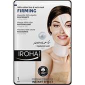 Iroha - Cura del viso - Firming 100% Cotton Face & Neck Mask