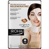 Iroha - Gezichtsverzorging - Regenerating 100% Cotton Face & Neck Mask