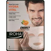 Iroha - Gesichtspflege - Relaxing & Moisturizing Tissue Face Mask Men