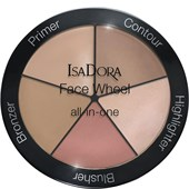 Isadora - Puder - Face Wheel All-In-One
