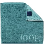 JOOP! - Classic Doubleface - Turquoise face cloth