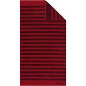 JOOP! - Classic Stripes - Ruby Bath Towel