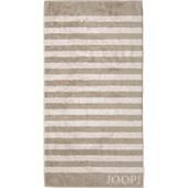 JOOP! - Classic Stripes - Duschtuch Sand