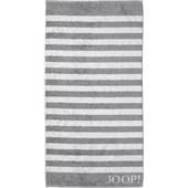 JOOP! - Classic Stripes - Toalha de duche prateada