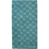 JOOP! - Cornflower - Toalla de ducha turquesa