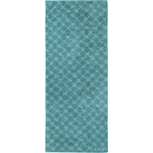 JOOP! - Cornflower - Turquoise bath sheet