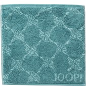 JOOP! - Cornflower - Turquoise face cloth