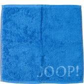Joop - Plaza Doubleface - Azure face cloth