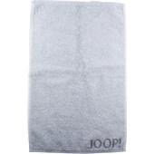 JOOP! - Purity Doubleface - Serviette d'invité Platine