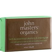 John Masters Organics - Cleansing - Birch & Cedarwood Cleansing & Shaving Bar