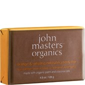 John Masters Organics - Cleansing - Orange & Ginseng  Exfoliating Body Bar