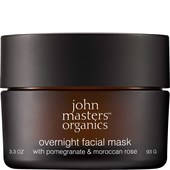 John Masters Organics - Trockene Haut - Overnight Facial Mask with Pomegranate & Moroccan Rose