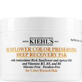 Kiehl's - Behandlingar - Sunflower Color Preserving Deep Recovery Pak