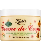 Kiehl's - Feuchtigkeitspflege - Limited Holiday Edition Creme de Corps Soy Milk & Honey Whipped Body Butter