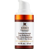 Kiehl's - Sera i koncentraty - Powerful-Strength Line-Reducing & Dark Circle-Dimishing Vitamin C Eye Serum