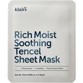 Klairs - Máscaras - Rich Moist Soothing Tencel Sheet Mask