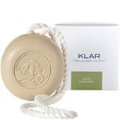 Klar Seifen - Seifen - Olive Lavendel  Haar- und Körperseife mit Kordel