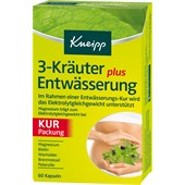 Kneipp - Nahrungsergänzung - 3-Kräuter Entwässerung