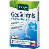 Kneipp - Nahrungsergänzung - Gedächtnis + Konzentration