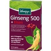 Kneipp - Nahrungsergänzung - Ginseng 500 + Eisen