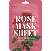 Kocostar - Masken - Rose Mask Sheet