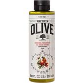 Korres - Körperpflege - Pure Greek Olive Pomegranate Shower Gel