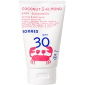 Korres - Sun care - Coconut & Almond Baby Sunscreen SPF30