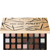 L.O.V - Ojos - Feel Your Power! Eyeshadow Palette