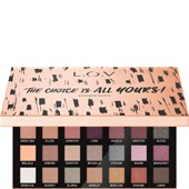 L.O.V - Augen - The Choice Is All Yours! Eyeshadow Palette