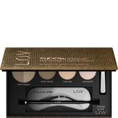 L.O.V - Augenbrauen - Browttitude Professional Eyebrow Palette