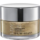 L.O.V - Gesichtspflege - Metallic Gold Perfectitude Overnight Mask