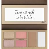 L.O.V - Complexion - The Shape x Glow Face Palette