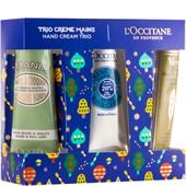 L'Occitane - Verbene - Handcreme-Trio Blau