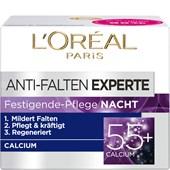 L'Oréal Paris - Age Perfect - Crema da notte rassodante antirughe Calcium Expert 55+