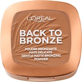L'Oréal Paris - Blush & Bronzer - Back to Bronze Gentle Matte Bronzing Powder