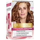 L'Oréal Paris - Excellence - Crème 6.32 Sonniges Hellbraun