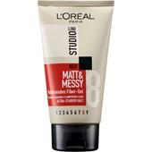 L'Oréal Paris - Masken & Crème - Matt & Messy Mattierendes Fiber Gel
