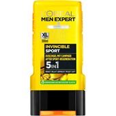 L'Oréal Paris Men Expert - Duschgele - Invincible Sport 5 in 1 Campher Duschgel