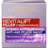 L'Oréal Paris - Tag & Nacht - Filler Aufpolsternde Nachtpflege