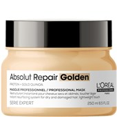 L'Oréal Professionnel - Serie Expert Absolut Repair - Gold Quinoa + Protein Resurfacing Golden Masque
