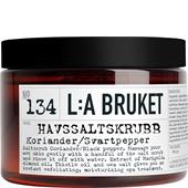 La Bruket - Peelings - No. 134 Salt Scrub Coriander/Black Pepper