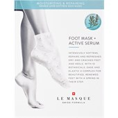 Le Masque Switzerland - Masken - Double Layer Softtech  Moisturizing & Repairing Foot Mask